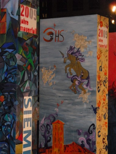The fall of the Berlin Wall 20 year anniversary